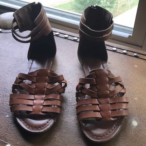 Jessica Simpson ankle strap sandals